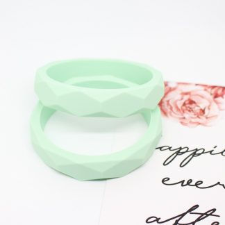 silicone bangle mint