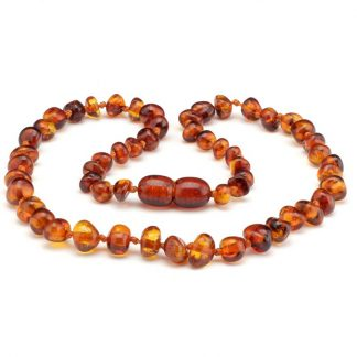 Amber Baby Amber NECKLACE Cognac