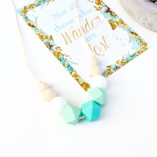 Charlotte silicone necklace