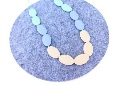 Claire silicone necklace nursing necklace | Teething baby