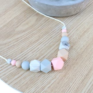 Silicone Necklace Abbie Silicone jewellery Nursing