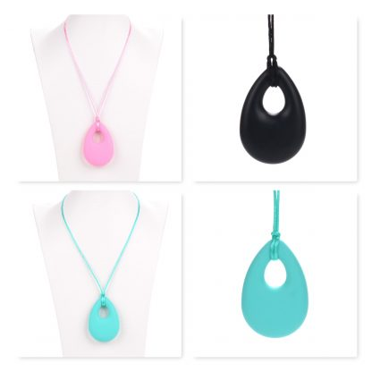 Keeley Necklace Silicone Tear Drop Pendant
