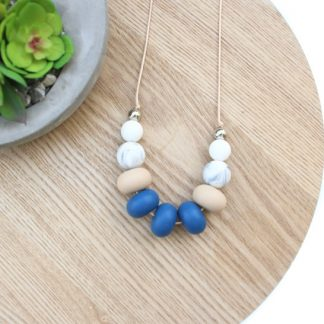 Amelia Silicone Necklace teething baby jewellery