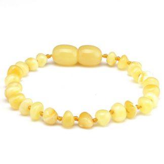 baltic amber amber bracelet butterscotch 14cm baby amber bracelet